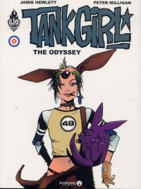 Tank Girl T4 : The odyssey (0), comics chez Ankama de Milligan, Hewlett