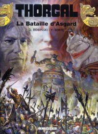 Thorgal T32 : La bataille d'Asgard (0), bd chez Le Lombard de Sente, Rosinski