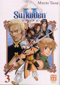 Suikoden V T3, manga chez Kazé manga de Tsuge