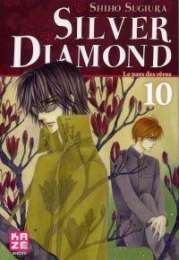 Silver diamond T10, manga chez Kazé manga de Sugiura