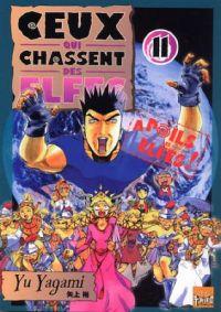 Ceux qui chassent des elfes  T11, manga chez Taïfu comics de Yagami