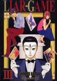 Liar game T3, manga chez Tonkam de Kaitani