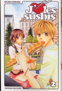 J'aime les sushis T2, manga chez Delcourt de Komura