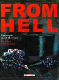 From Hell, comics chez Delcourt de Moore, Campbell