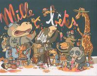 Mille et une bêtes, bd chez Scutella Editions de M