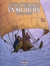Le tour du monde en 80 jours, de Jules Verne T3, bd chez Delcourt de Dauvillier, Soleilhac