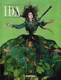Ida T2 : Candeur et abomination, bd chez Delcourt de Cruchaudet