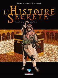 L'histoire secrète T21 : Le mahdi, bd chez Delcourt de Pécau, Kordey, O'Grady, Manchu