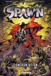 Spawn – Archives, T9 : Confrontation (1), comics chez Delcourt de Holguin, Niles, McFarlane, Capullo, Medina, Kemp, Haberlin