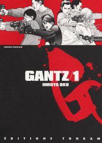 Gantz – 1e edition, T1, manga chez Tonkam de Oku