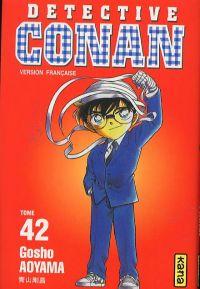 Detective Conan T42, manga chez Kana de Aoyama