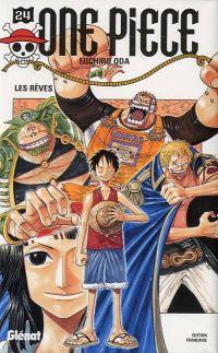 One Piece T24 : Les rêves (0), manga chez Glénat de Oda