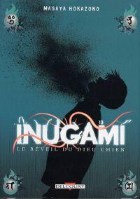 Inugami, le réveil du dieu chien T13, manga chez Delcourt de Hokazono