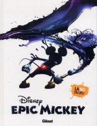 Epic Mickey T1 : L'origine (0), comics chez Glénat de David, Celoni, Mottura