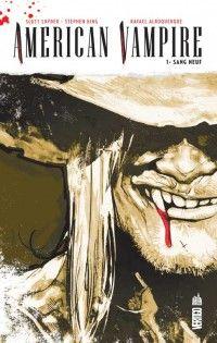American Vampire T1 : Sang neuf (0), comics chez Urban Comics de Snyder, King, Albuquerque, McCaig