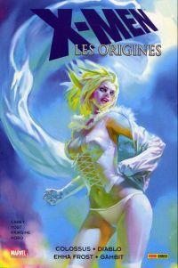 X-Men - Les origines T1 : Colossus / Diablo / Emma Frost / Gambit (0), comics chez Panini Comics de d'Orazio, Carey, Bernardin, Freeman, Hairsine, Harren, Yardin, Moline, Nord, Roberson, Sotomayor, Fairbairn, Hollowell, Staples, Benjamin