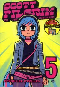 Scott Pilgrim – 1ère édition - N&B, T5 : vs. the universe (0), comics chez Milady Graphics de O'Malley