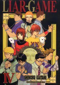 Liar game T4, manga chez Tonkam de Kaitani