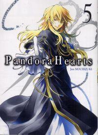 Pandora Hearts T5, manga chez Ki-oon de Mochizuki
