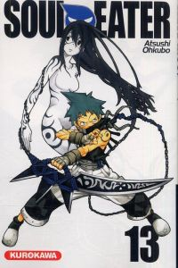 Soul eater T13, manga chez Kurokawa de Ohkubo
