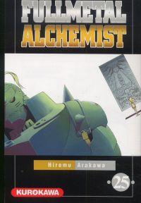 Fullmetal Alchemist T25, manga chez Kurokawa de Arakawa