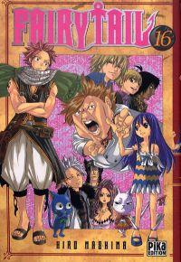 Fairy Tail T16, manga chez Pika de Mashima