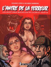 L'Antre de la terreur, comics chez Dynamite de Barreiro, Lopez