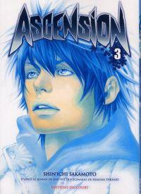 Ascension T3, manga chez Delcourt de Nabeta, Nitta, Sakamoto