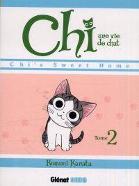 Chi - une vie de chat T2 : Chi's sweet home (0), manga chez Glénat de Konami