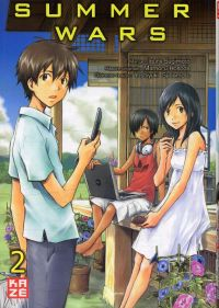 Summer wars T2, manga chez Kazé manga de Hosoda, Sugimoto, Sadamoto