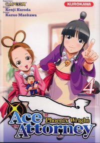 Ace attorney Phoenix Wright T4, manga chez Kurokawa de Kuroda, Capcom , Maekawa