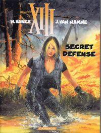 XIII T14 : Secret défense (0), bd chez Dargaud de Van Hamme, Vance, Petra