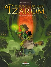 L'honneur des Tzarom T2 : Le théorème de l'exfiltration (0), bd chez Delcourt de Lupano, Cauuet