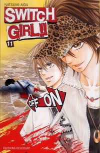 Switch girl  T11, manga chez Delcourt de Aida