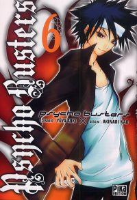 Psycho busters T6, manga chez Pika de Aoki, Nao