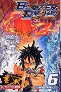 Blazer drive T6, manga chez Kurokawa de Kishimoto