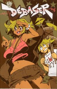 Debaser T5, manga chez Ankama de Raf