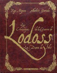 Les Chroniques de la guerre de Lodoss - La dame de Falis - Deluxe, manga chez Kazé manga de Mizuno , Akihiro
