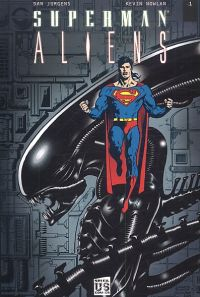 Superman vs Aliens T1, comics chez Soleil de Jurgens, Nowlan, Wright, Android Images