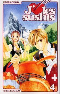 J'aime les sushis T4, manga chez Delcourt de Komura