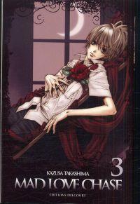Mad love chase T3, manga chez Delcourt de Takashima