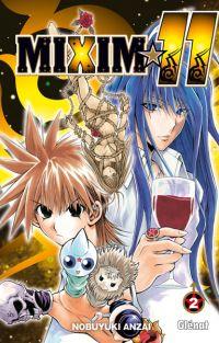 Mixim 11 T2, manga chez Glénat de Anzai
