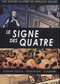 Une Histoire illustrée de Sherlock Holmes T3 : Le Signe des quatre (0), comics chez Akileos de Doyle, Edginton, Culbard