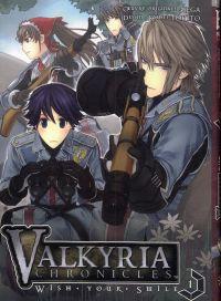 Valkyria chronicles - Wish your smile  T1, manga chez Soleil de Tokito, Sega