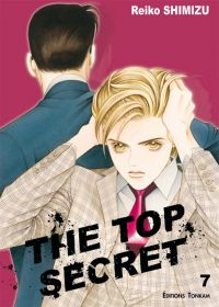 The top secret T7, manga chez Tonkam de Shimizu