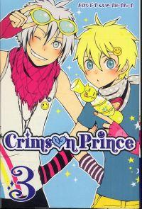 Crimson prince T3, manga chez Ki-oon de Kuwahara