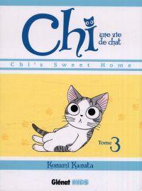 Chi - une vie de chat T3, manga chez Glénat de Konami