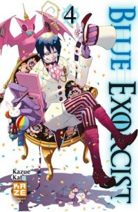 Blue exorcist T4, manga chez Kazé manga de Kato