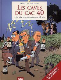 Les Caves du CAC 40, bd chez 12 bis de Simmat, Bercovici, Bonaventure