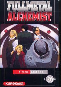 Fullmetal Alchemist T26, manga chez Kurokawa de Arakawa